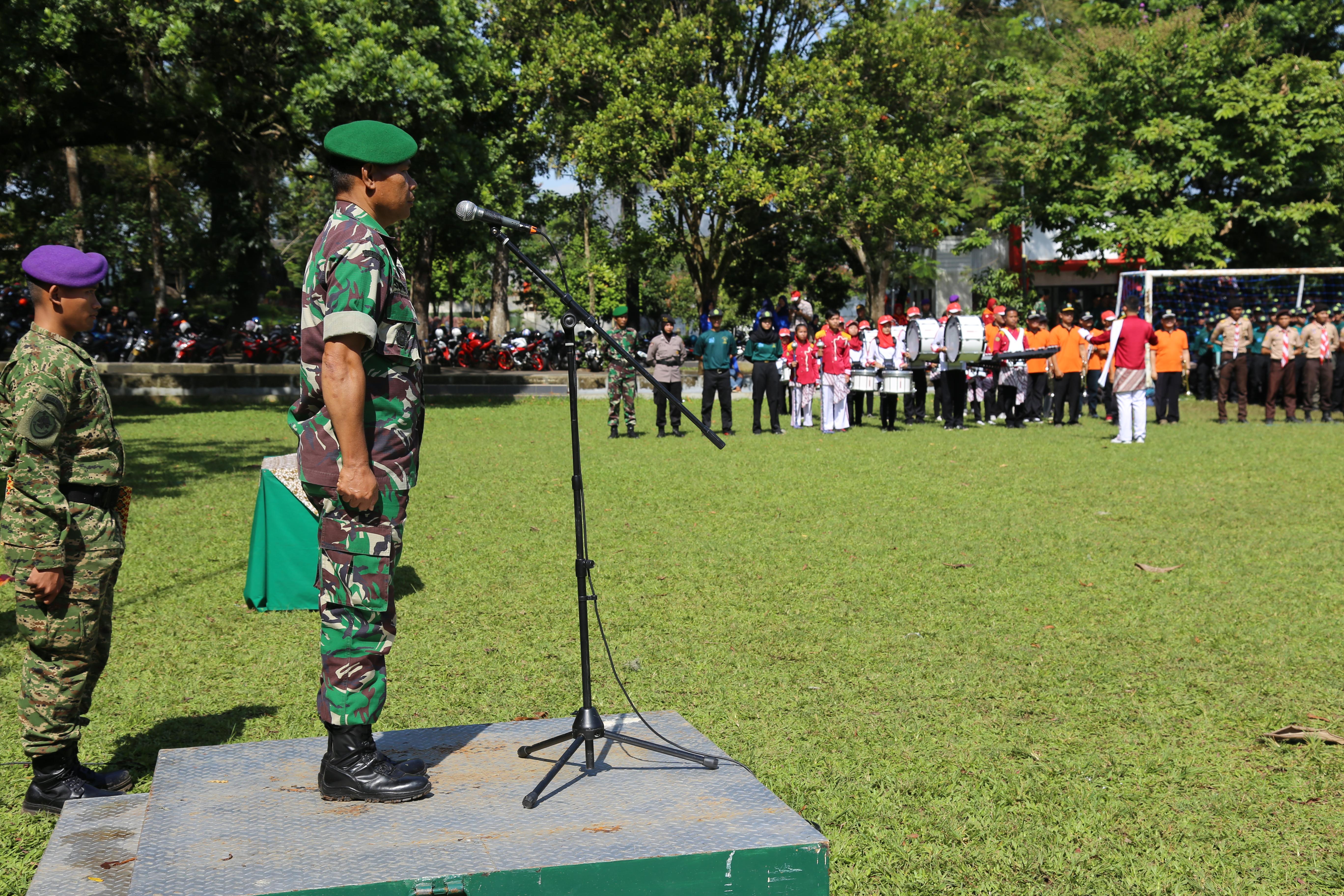 Pembukaan PBN UNSIL Angkatan Ke – 31 Tahun 2017