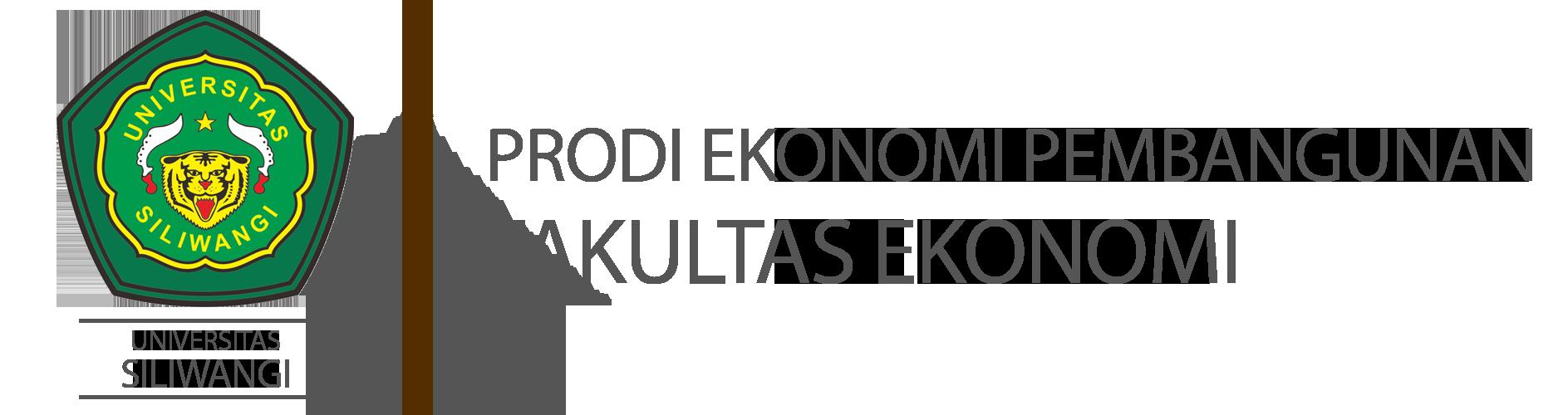 Website Resmi Prodi Ekonomi Pembangunan Universitas Siliwangi